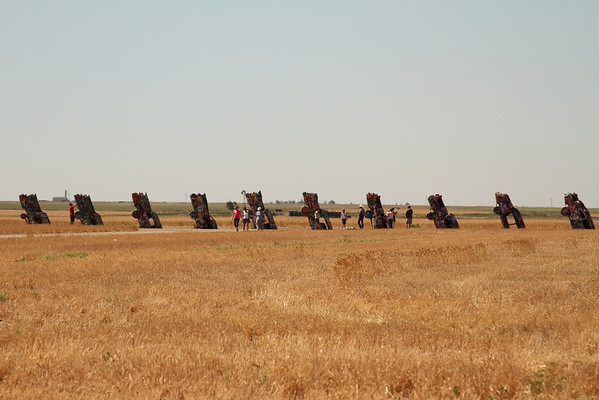 American Dream- Cadillac Ranch